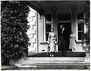 Auckland Government House Garden Party (23 December 1953)