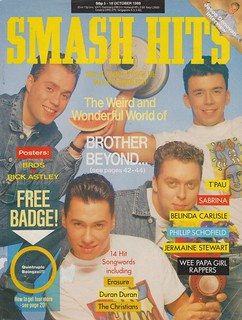 Smash Hits, October 5, 1988