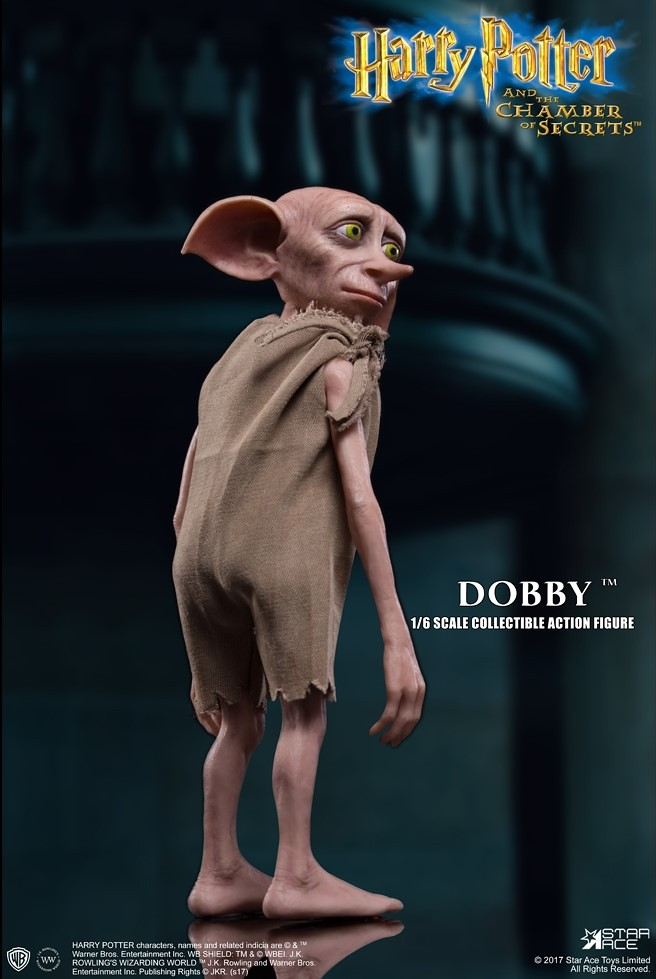 Star Ace Toys 哈利波特:消失的密室【家庭小精靈多比】Dobby 1/6 比例人偶作品