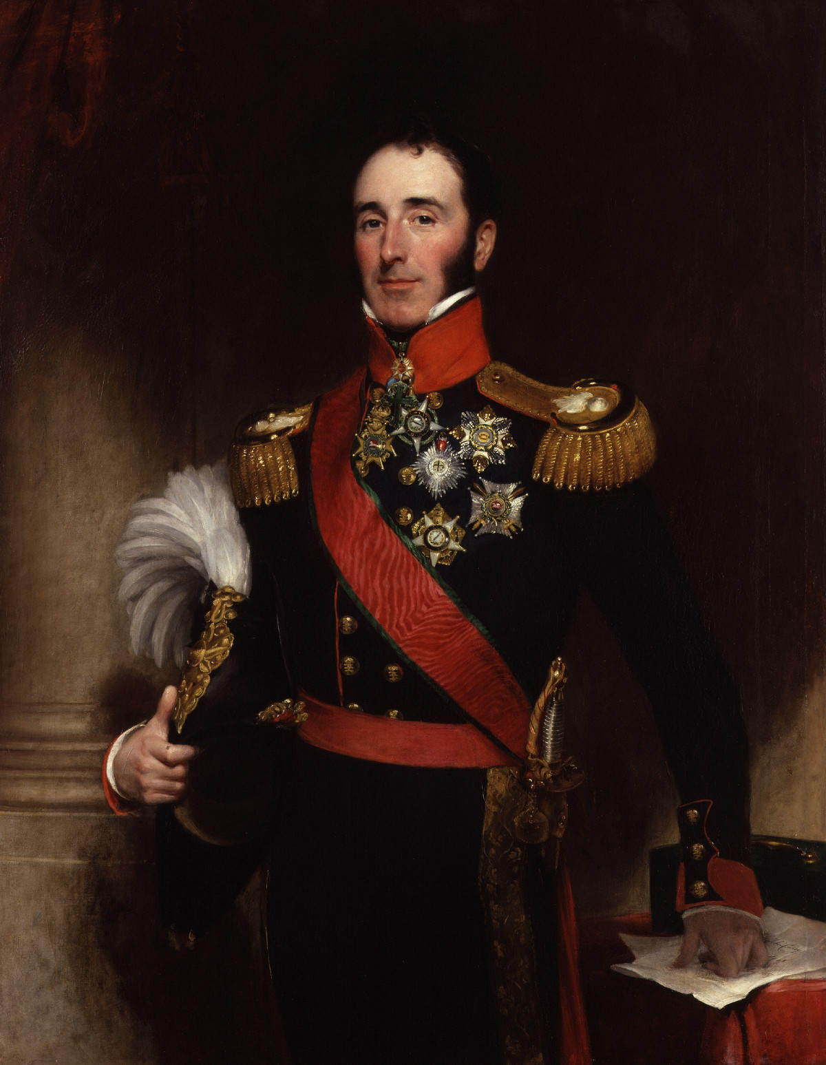 Sir John Ponsonby Conroy, 1st Baronet by Henry William Pickersgill, 1837