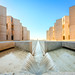 salk institute fountain by Chimay Bleue