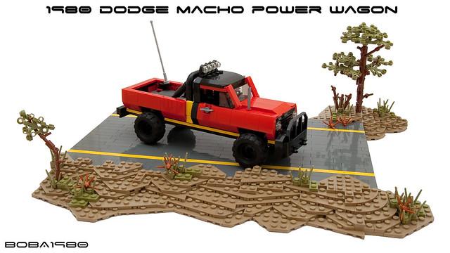 Simon & Simon - 1980 Dodge Macho Power Wagon
