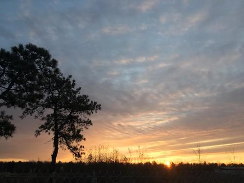 clouds sky longisland sunrise