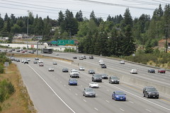 I-5 southbound from 75th Street