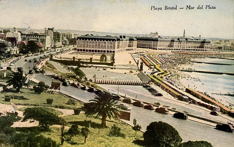 La décade des années 50 à Mar del Plata