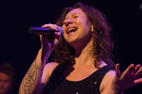 Petra Honing tijdens de Top2000 van Roosendaal