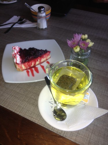 Cheese cake and coca tea to cure the effects of altitude