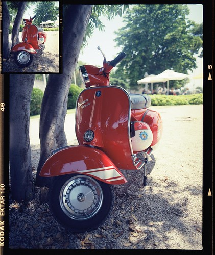 Vespa World Days 2015. Ride out to Zadar