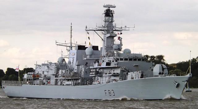 HMS St Albans F83 (2) @ Gallions Reach 07-07-15
