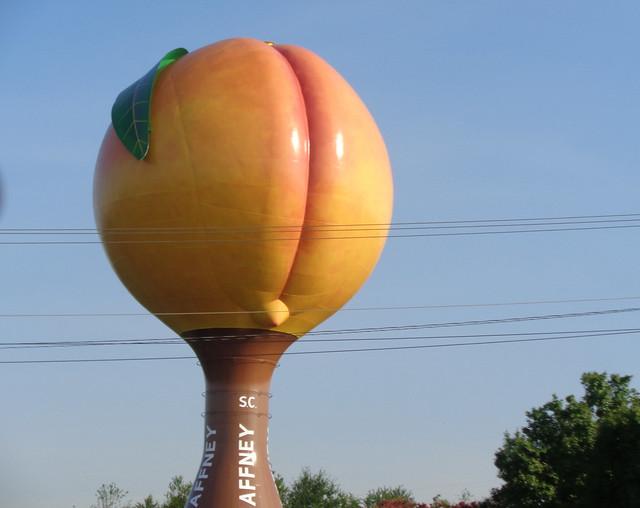 Peach Water Tower, Gaffney SC