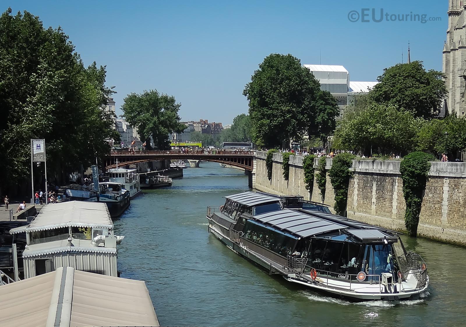 View towards Pont au Double