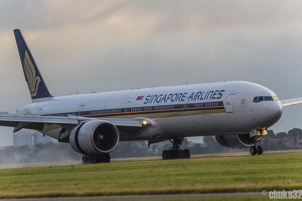 9V-SWF - B77W - Singapore Airlines