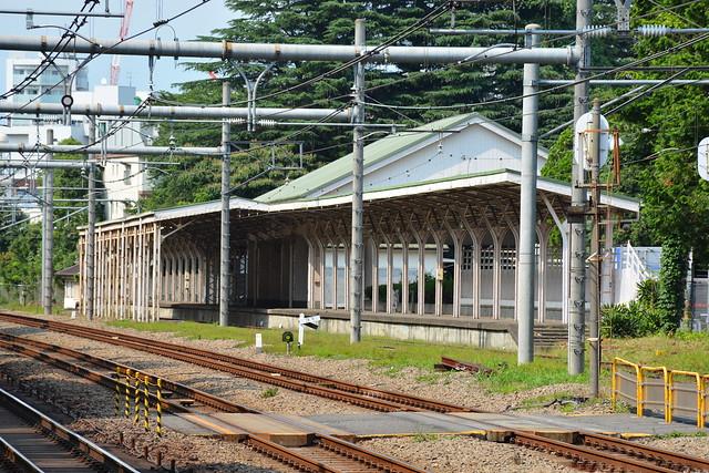 原宿駅:皇室専用ホーム