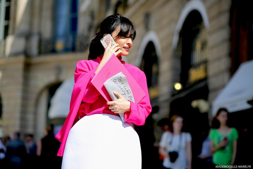 Samar Seraqui at Paris Fashion Week Haute Couture