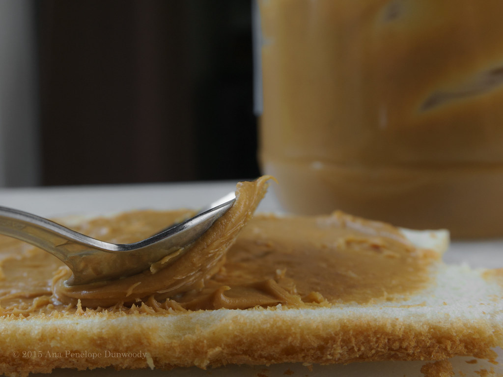 Spreading Peanut Butter with a Spoon