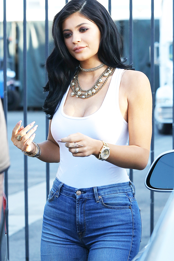 Kylie Jenner Leaving a Studio in Van Nuys Outfit Details