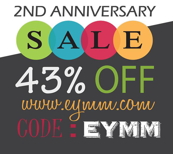 43% off at EYMM