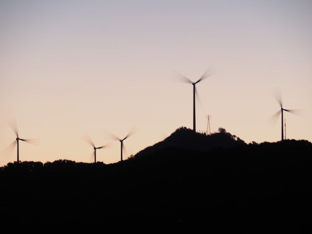 伊豆の風力発電