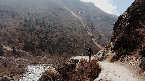 Sole Sister Emma langtang-trekking