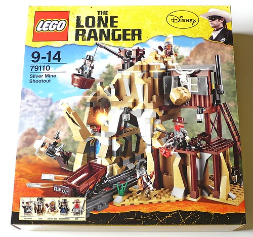 The Lone Ranger 79110 Silver Mine Shootout box01