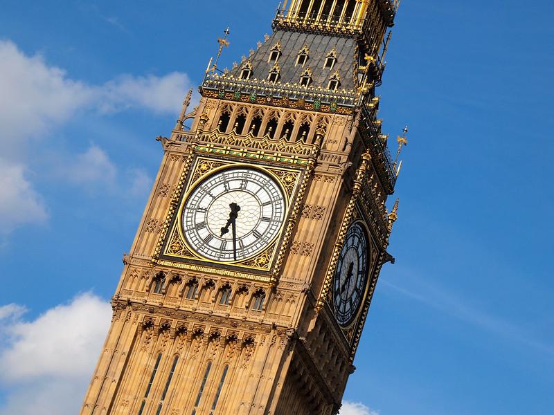 Elizabeth Tower and Big Ben in London