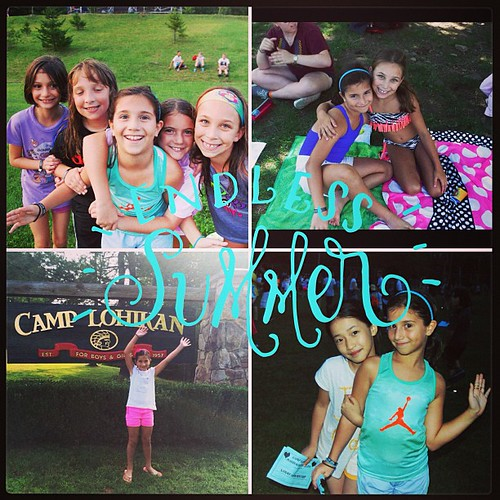 Resorted to editing her camp photos. #misshersomuch
