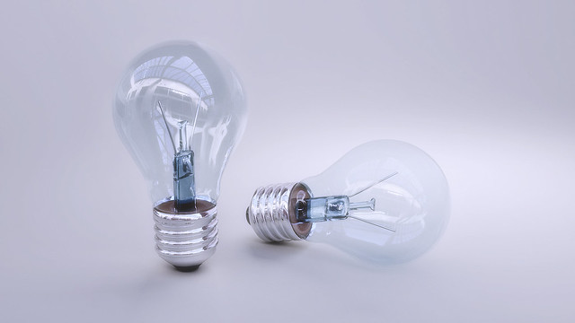light bulb realistic render
