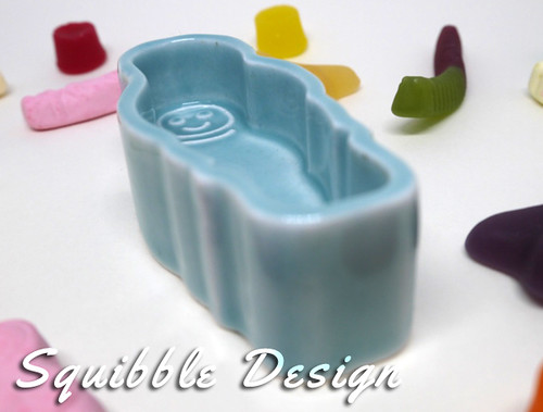 Green Eskimo Ring Dish by Squibble Design