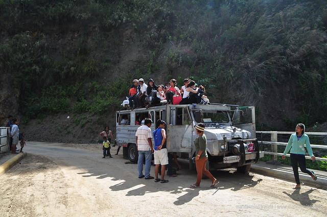 Tinglayan-bound Jeepney in Kalinga
