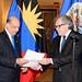 Ambassador of Antigua and Barbuda Presents Credentials