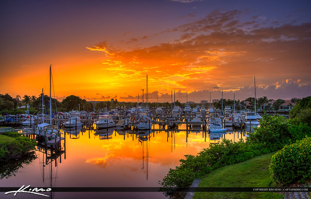 Loggerhead Marina Palm Beach Gardens Sunrise