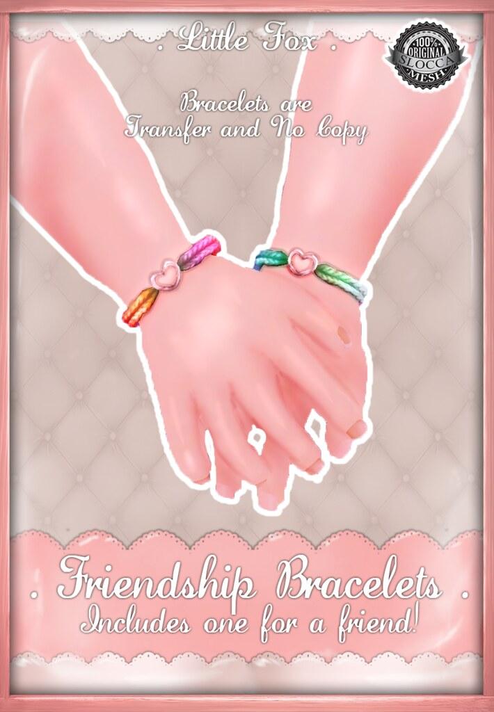 . Little Fox . Friendship Bracelets - SecondLifeHub.com
