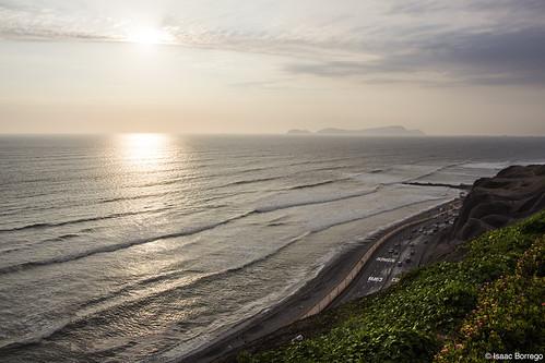 uploadedviaflickrqcom ocean water coast sky evening sunset miraflores lima peru canonrebelt4i