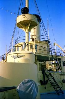 Image of USS Olympia near Philadelphia.