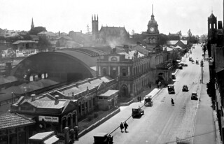 Central Railway Station, Ann Street, Brisbane, October 1926