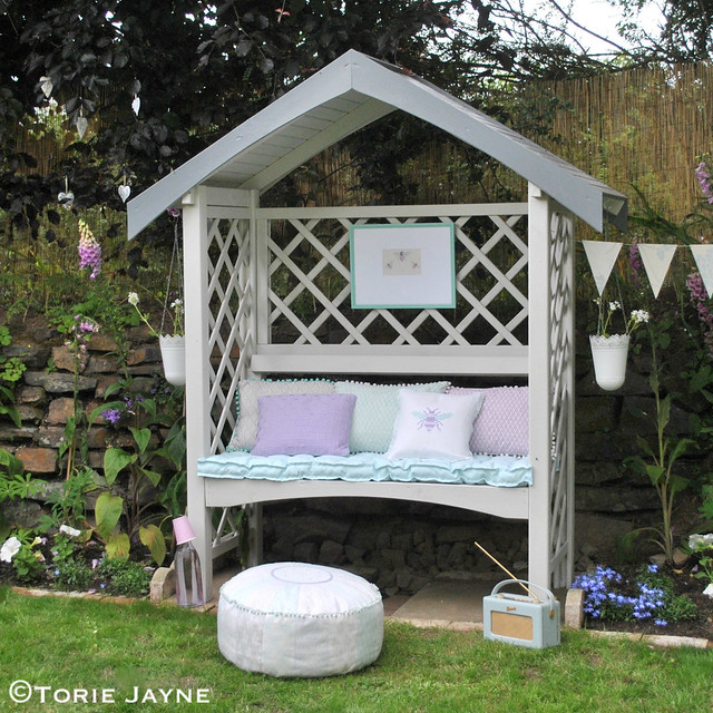 Swell My Pretty Garden Arbour Bench Torie Jayne Pdpeps Interior Chair Design Pdpepsorg