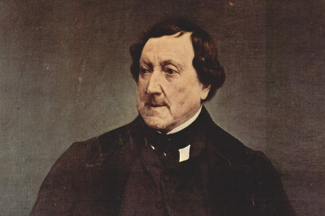 Gioachino Rossini. By Francesco Hayez, 1870. Courtesy Wikimedia Commons