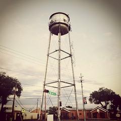 Main Street water tank