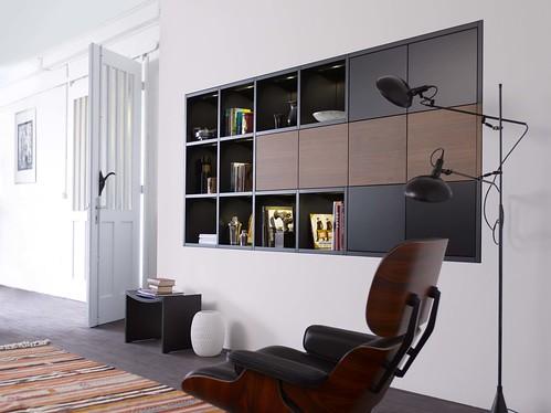 Leicht mobilier encastrable+Vitra