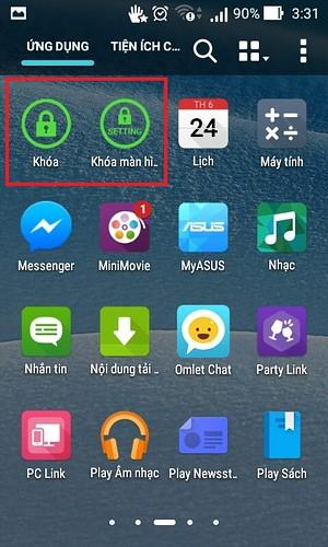 Giới thiệu một vài ứng dụng nhỏ thay thế nút nguồn trên Android. - 82905