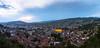 The best view of Sarajevo a restaurant can give you : Restoran Park Prinčeva [EXPLORED]