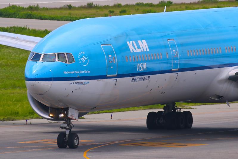 """Nationaal Park Sian Ka'an"" KLM Asia PH-BVC Boeing 777-300ER"