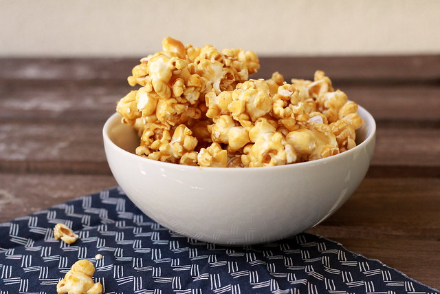 Spicy Honey Caramel Corn