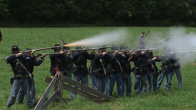 Civil War Reenactment | Delaware County Historical Association | July 2015