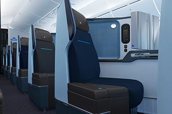 KLM B787-9 World Business Class (KLM)