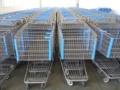 outdoor structure(0.0), cage(0.0), iron(1.0), shopping cart(1.0),