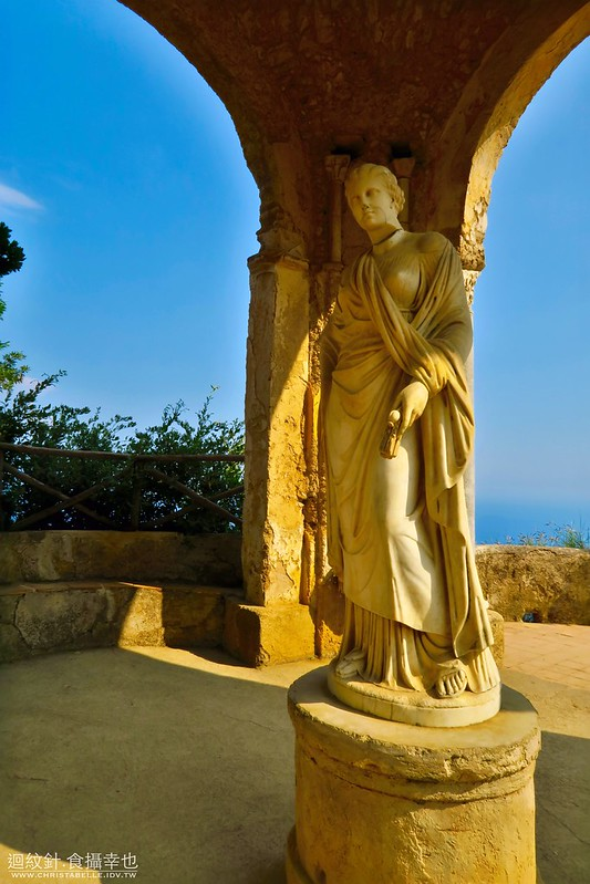 The Statue of Ceres, Villa Cimbrone, Ravello, Amalfi Coast, Italy