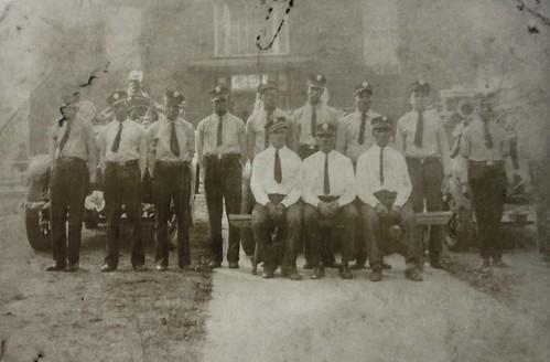 Halls Hill Volunteer Fire Department, probably 1930s