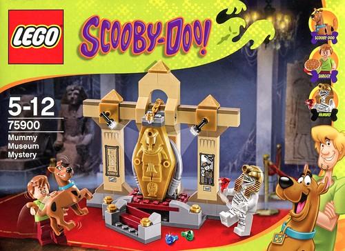 LEGO Scooby Doo 75900 Mummy Museum Mystery box04