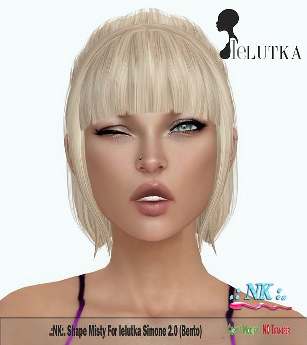 .:NK:. Shape MISTY for LELUTKA SIMONE 2.0 (BENTO) NEW!! - SecondLifeHub.com